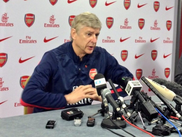 Wenger interview