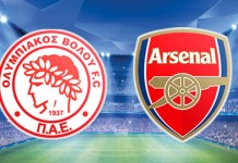 Olympiakos v Arsenal, Ligue des Champions
